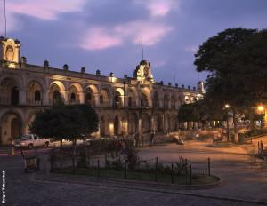 Antigua - Palacio de Los Capitanes (Foto: Instituto Guatemalteco de Turismo)