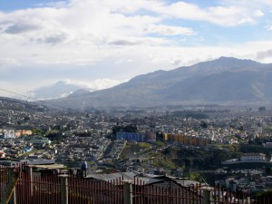 Ausblick von Itchimbia auf Quito
