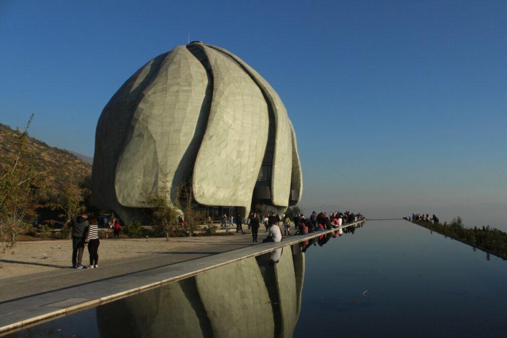 Der Templo Bahai'i in Santiago de Chile