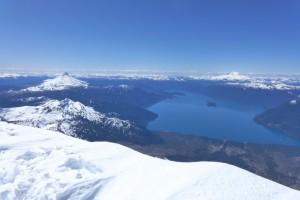 Blick vom Osorno
