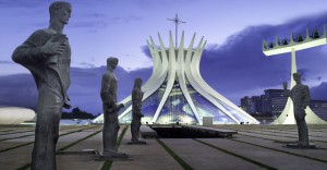 Kathedrale Metropolitana de Brasilia © Luiz Trazzi Martins / Ministério do Turismo