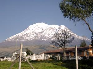 Blick auf den Chimborazo (Mit freundlicher Genehmigung von Positiv Turismo)