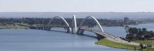 Juscelino Kubitschek Brücke © Sting (wikipedia.de)