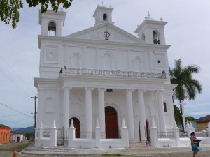 Kirche von Suchitoto in El Salvador