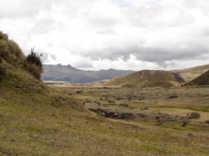 Landschaft im Cotopaxi Nationalpark