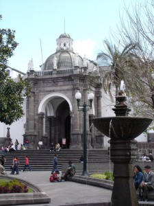 Plaza Independencia in Quito