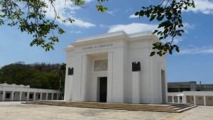 Bolivar Mausoleum in Santa Marta