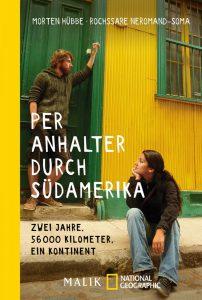 """Buchcover """"Per Anhalter durch Südamerika"""""""